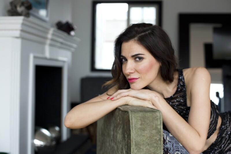 Cecilia Gessa es novia del también actor Carlos Bardem. Stylist: Karen Pareti.
