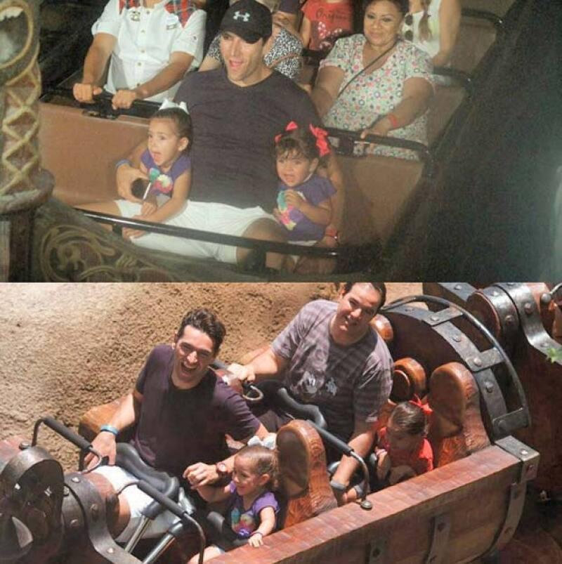 Con motivo del cumpleaños de Carolina, la familia Fuentes Bracamontes viajó a Disney World para disfrutar de las atracciones del lugar, compartiendo estos momentos en sus respectivas redes sociales.