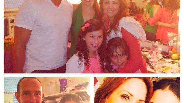 La familia Rubín Legarreta se fue a Nueva York y allá visitaron a Bianca Marroquín en Broadway.