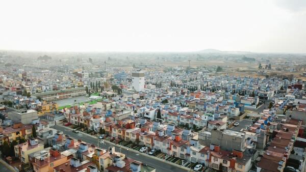 Aerial View - Toluca Mexico