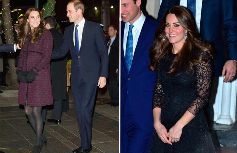 El mommy glow de Kate es evidente.