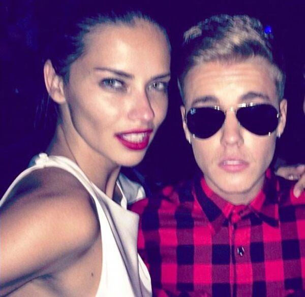 La supermodelo y Justin son amigos; nunca hubo nada entre ellos, aclaró.