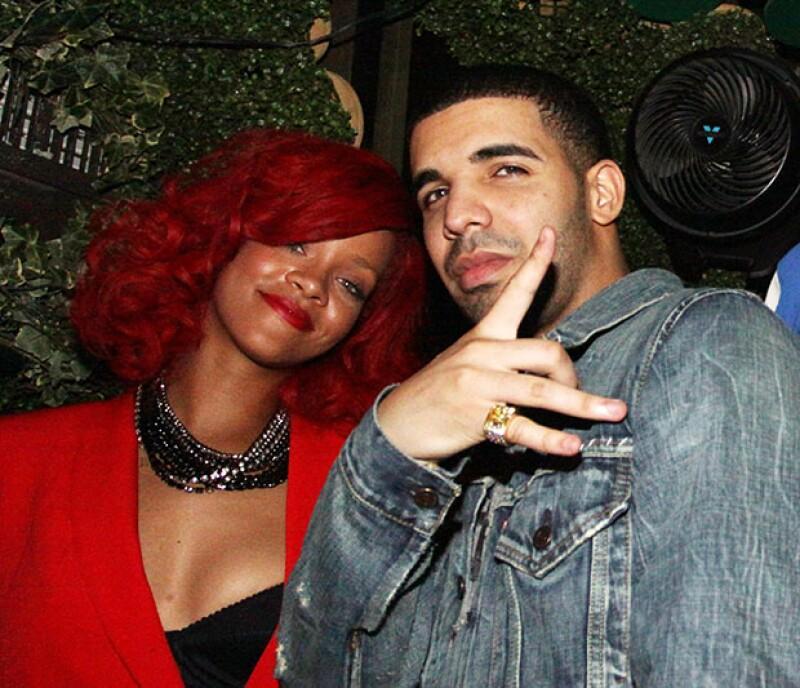 Chris Brown y Drake se involucraron en una pelea a mediados de este año. Drake y Rihanna salieron durante algunos meses en 2009.