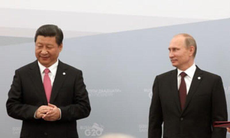 Xi Jinping, el presidente chino, puede ser un gran aliado para la administración de Vladimir Putin.  (Foto: Getty Images)