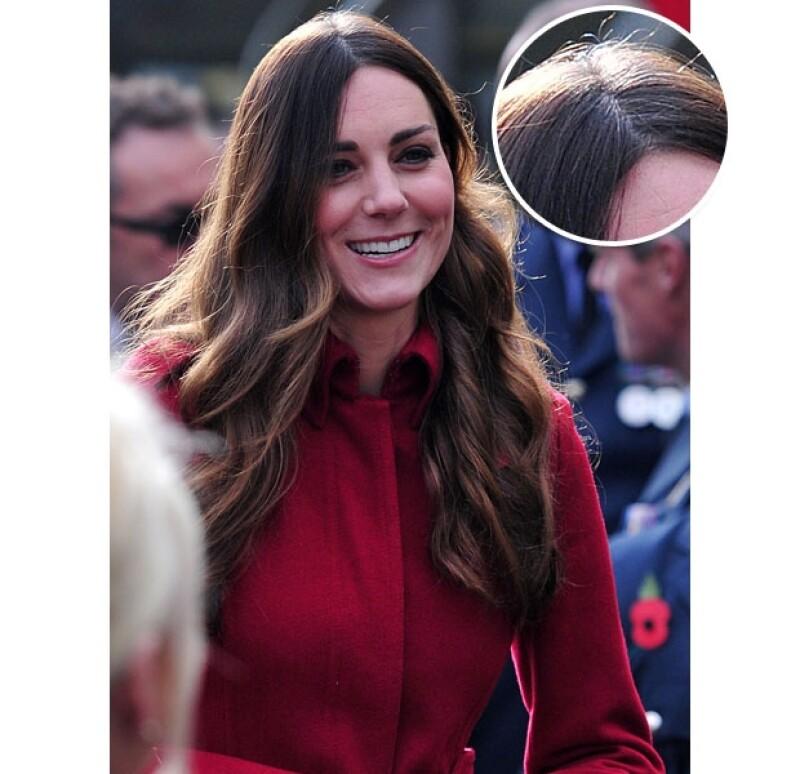 La duquesa de Cambridge ha sido elogiada por poseer una de las cabelleras más envidiables de Inglaterra.