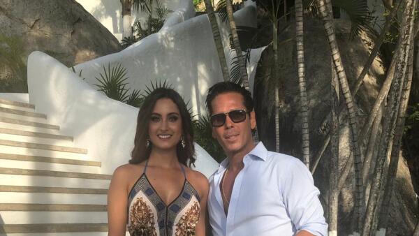 Juliana Franco y Roberto Palazuelos