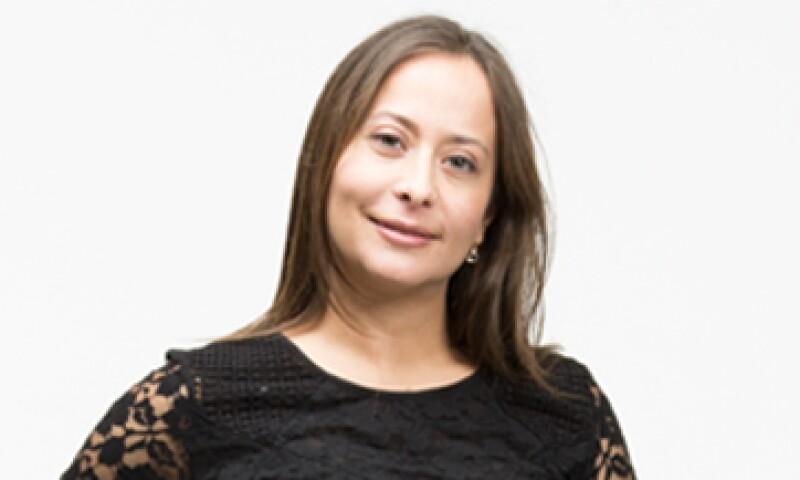 """""""Lo perfecto es enemigo de lo bueno"""", dice Mildred Villegas Sojo, una de las 30 promesas en los 30 de la edición 2013 de la revista Expansión. (Foto: Dayan Jiménez/Jorge Garaiz)"""