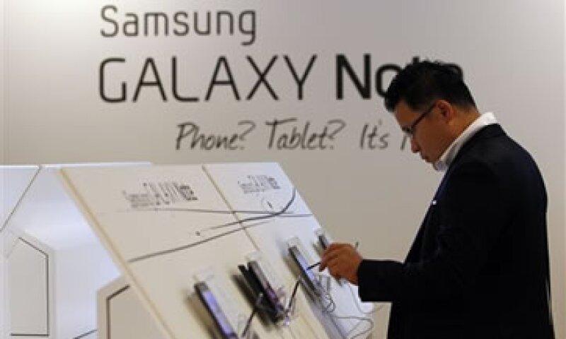El Galaxy Note es el dispositivo más popular de Samsung después del Galaxy S.  (Foto: AP)