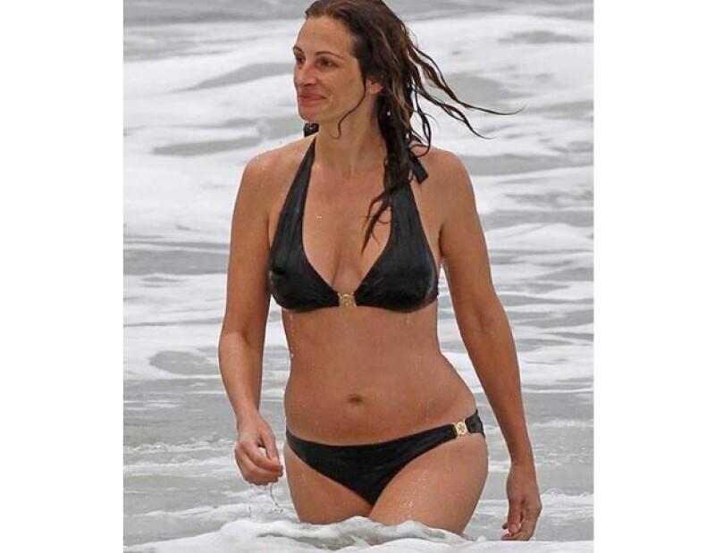 Julia Roberts sigue luciendo muy bien a sus 44 años.