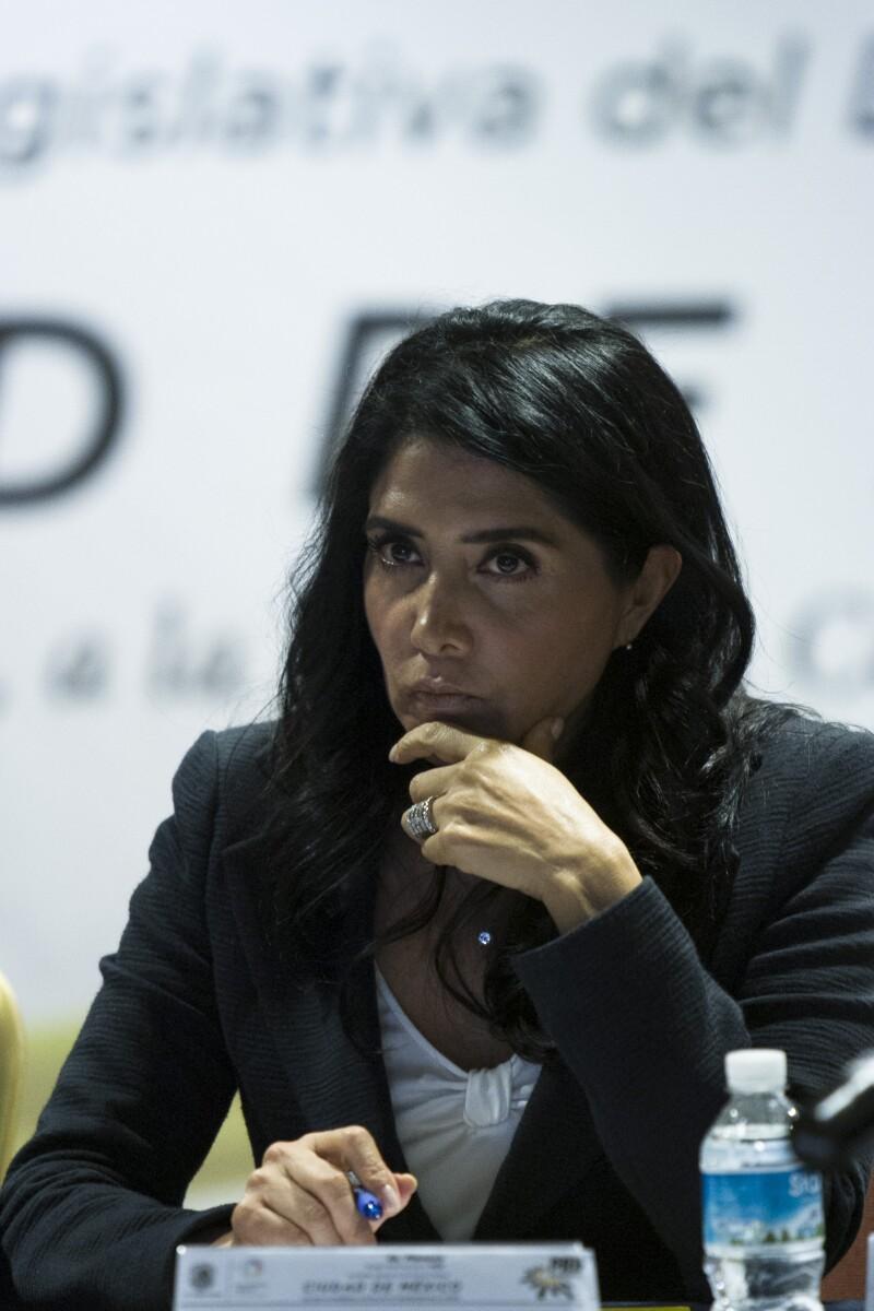 La líder del PRD bajo sospecha