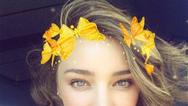 La modelo está recién comprometida con CEO de la aplicación y su felicidad se nota en cada foto y video que comparte en sus redes sociales.