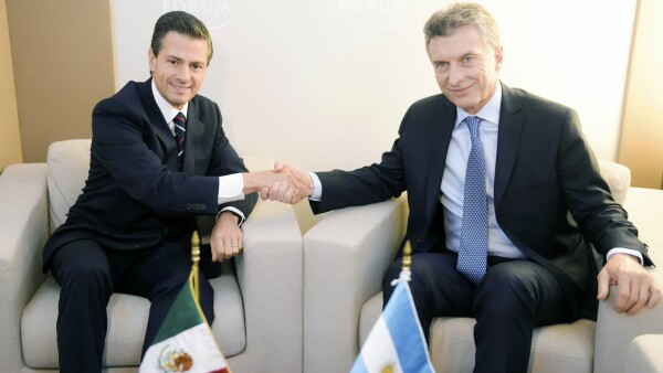 Visita de Enrique Peña Nieto a Argentina