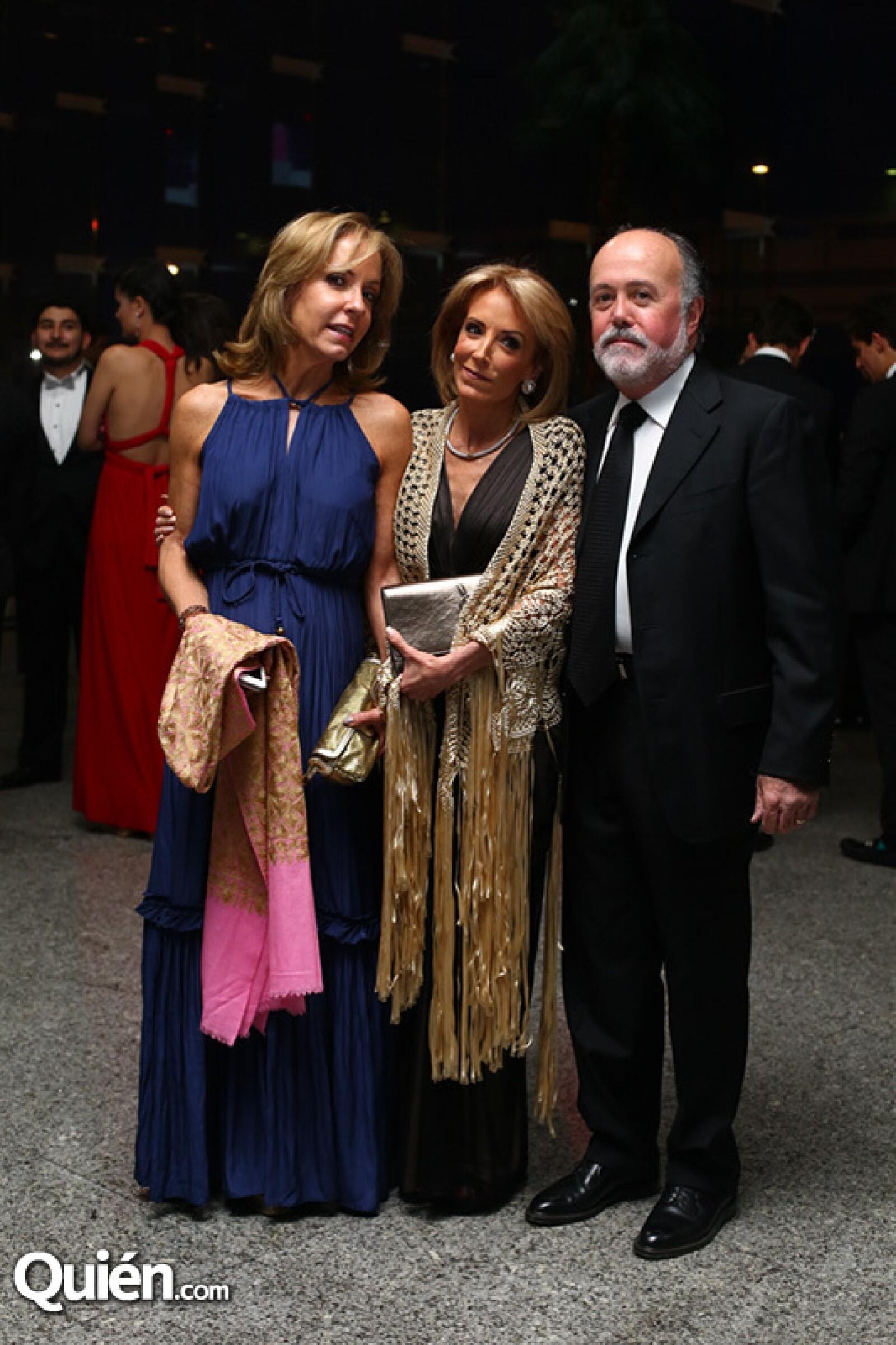 Lorenza Barroso, Maru y Chema Ribot