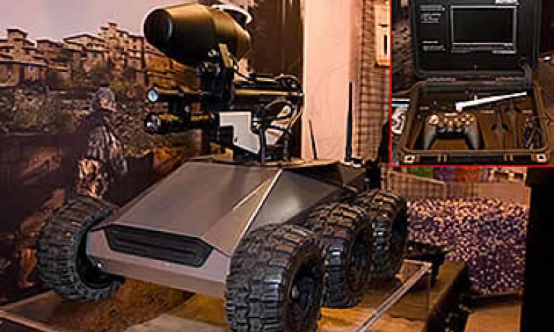 Robot Militar (Foto: Cortesía Gizmodo)