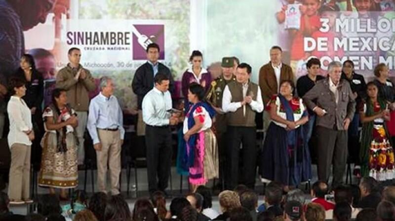 Enrique Pena Nieto, presidente, Michoacan