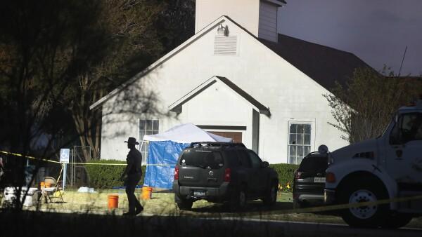 El tiroteo en una iglesia de Texas ha dejado al menos 26 muertos