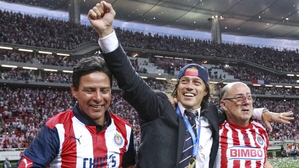 Campeón con Chivas.