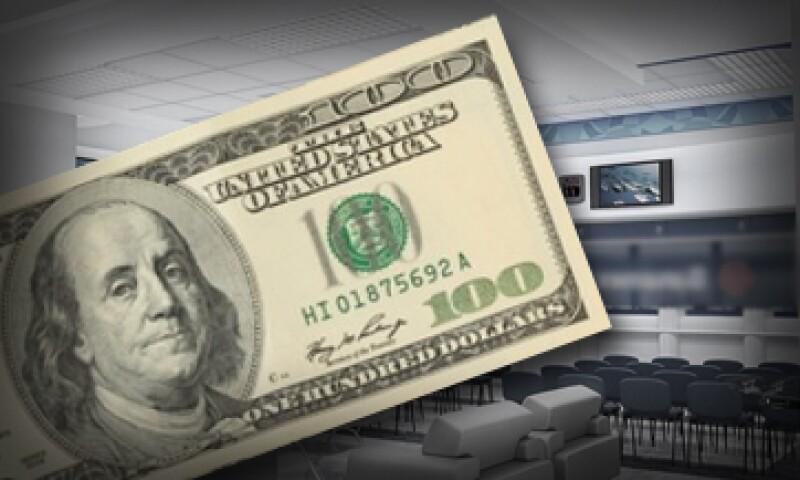 Este viernes Banxico colocó 52 millones de dólares a un tipo de cambio de 15.5081 pesos. (Foto: Especial )