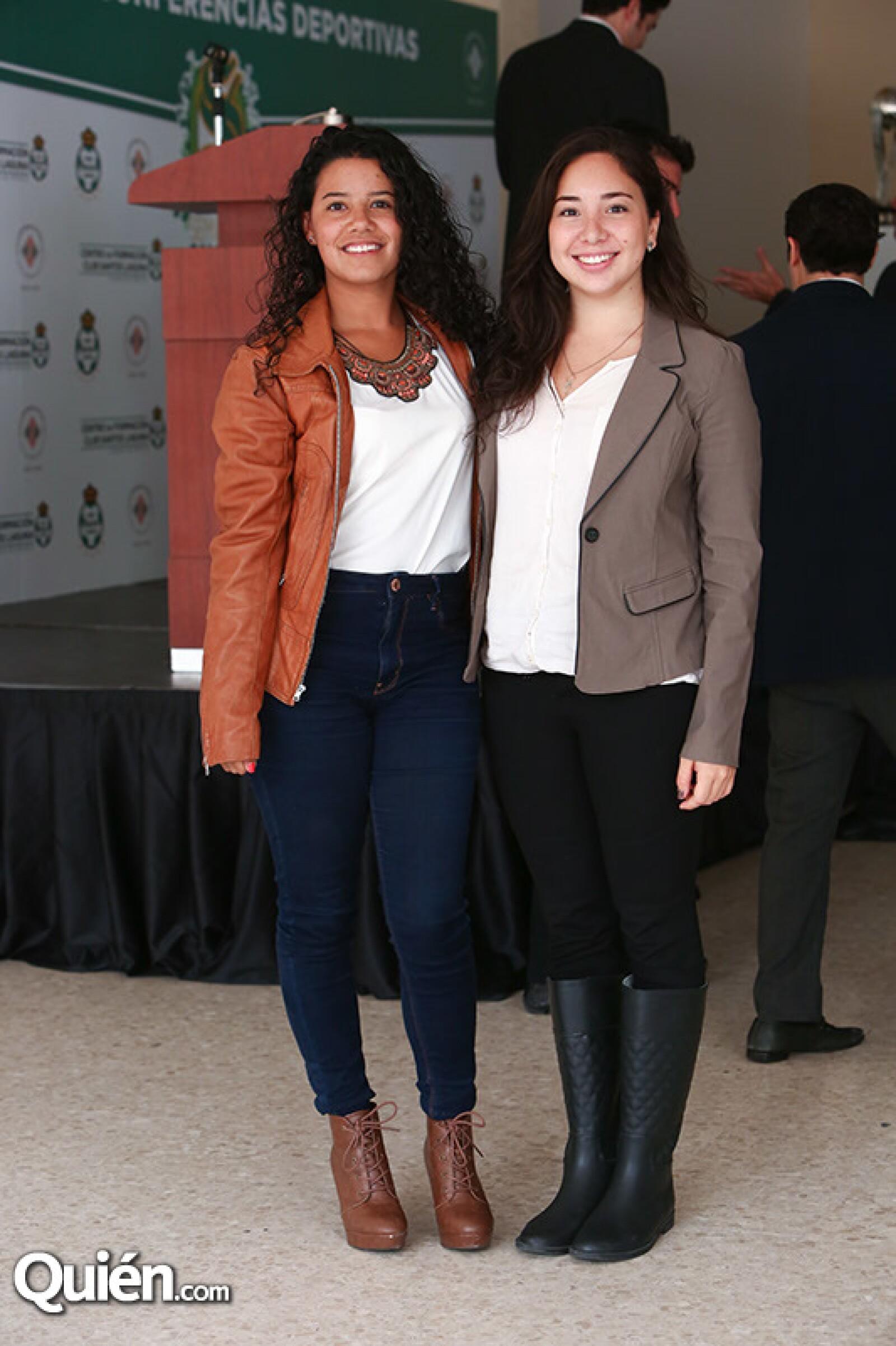 Juliana García y Andrea Ricardes