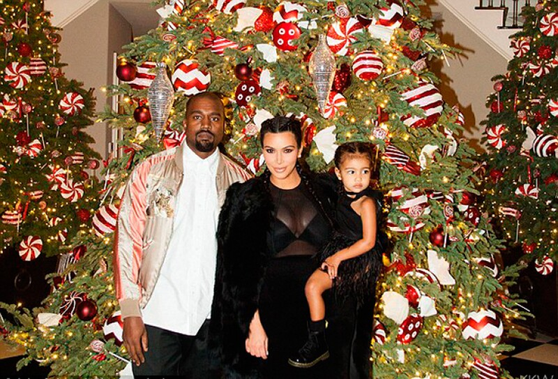 La estrella de reality compartió este lunes fotografías de la fiesta organizada por su mamá, en las que vemos cómo luce tras el nacimiento de Saint.