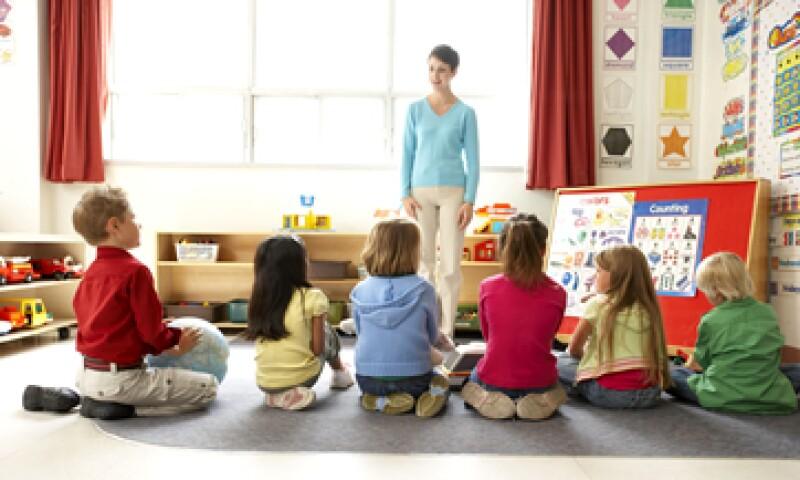 Los grupos en los centros Froggin tienen un máximo de ocho niños. (Foto: Thinkstock)
