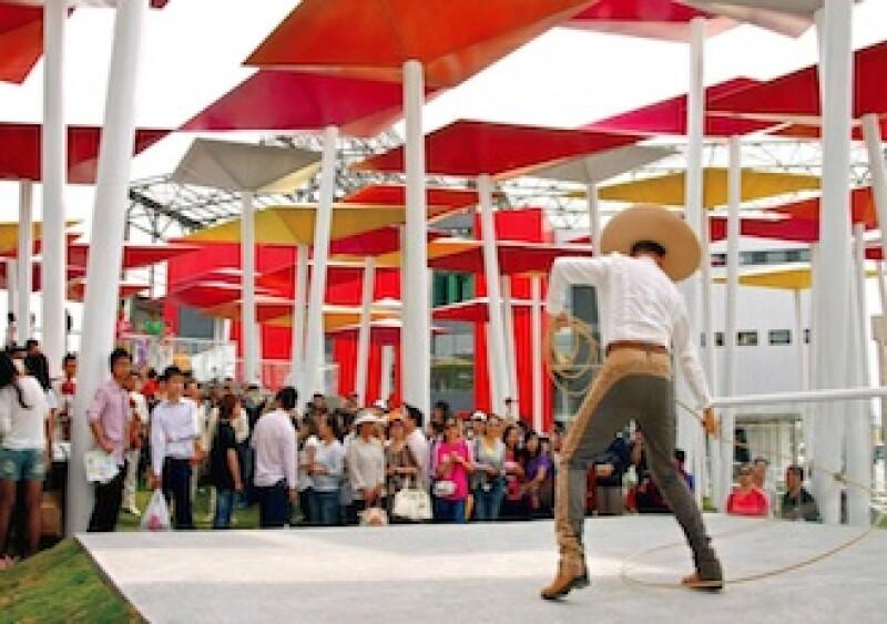 El pabellón ncluye jardines con papalotes gigantes, sala de exposiciones, centro de negocios y restaurante.  (Foto: Especial)