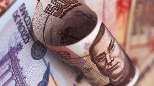 El peso se aprecia frente a los 12.33 unidades por dólar que registró el miércoles.   (Foto: Getty Images)