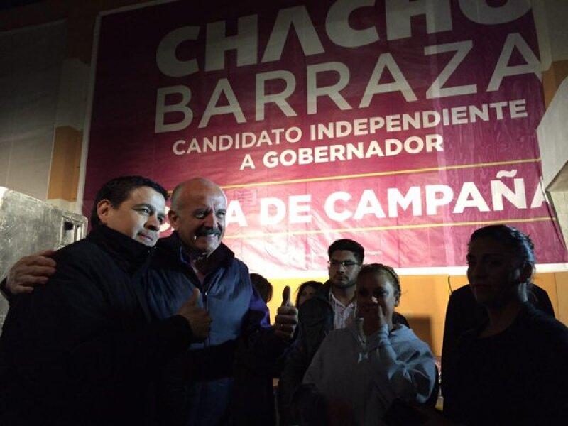 El ex presidente de la Coparmex José Luis Barraza, busca hacerse de la gubernatura de Chihuahua por la vía independiente