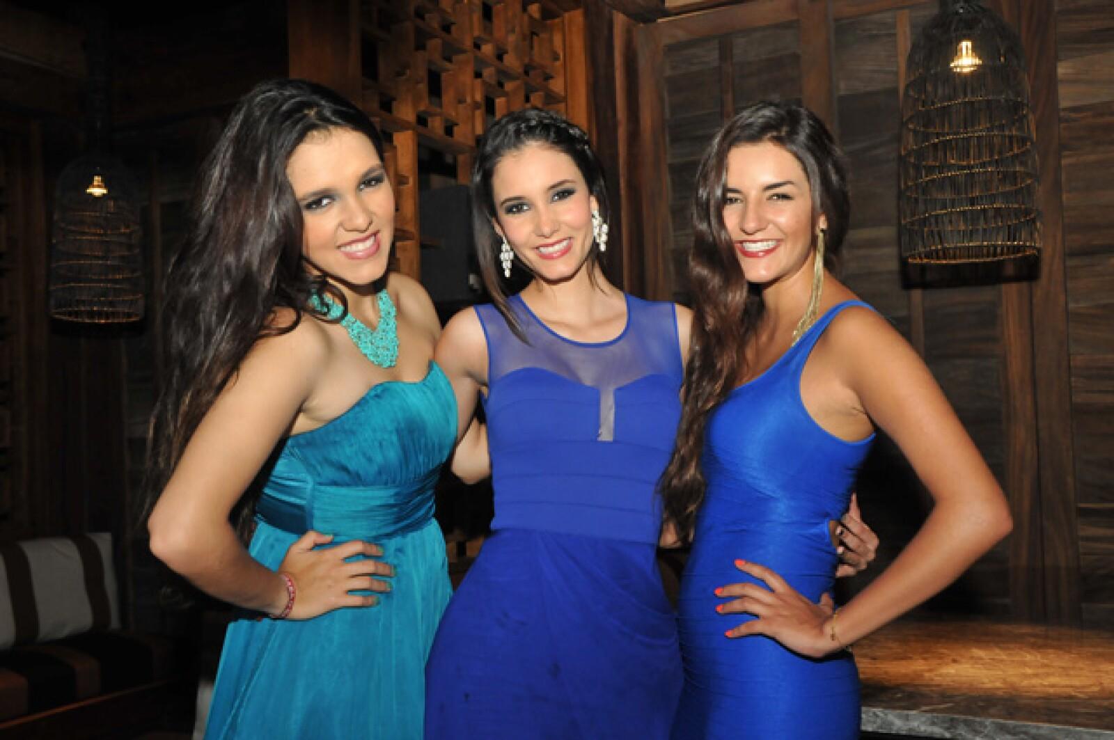 Michelle, Bárbara y Victoria Islas.