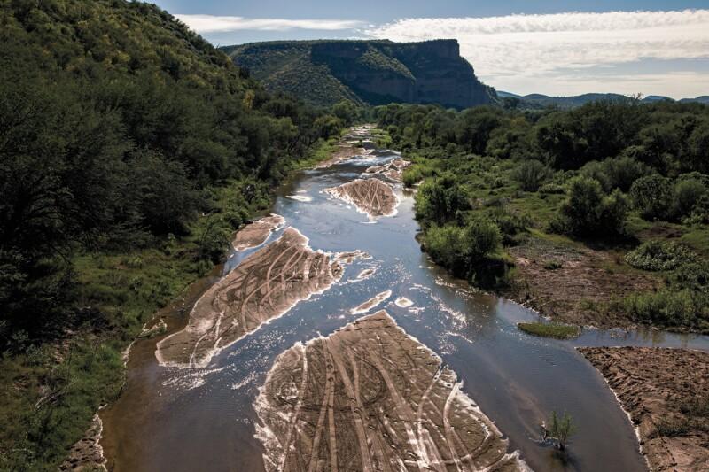 Los ríos Sonora y Bacanuchi fueron afectado por el derrame. (Foto: Cuartoscuro)