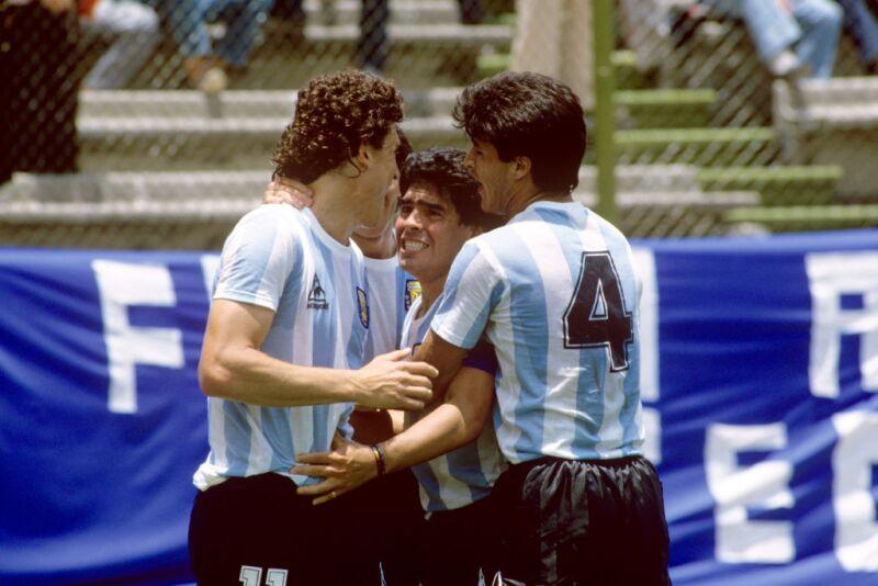 Argentina, en México 1986.
