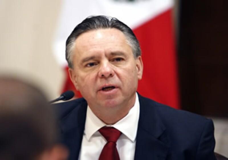 Eduardo Medina Mora encabezó la Operación Limpieza, un plan para depurar las instituciones de seguridad pública. (Foto: Archivo NTX)