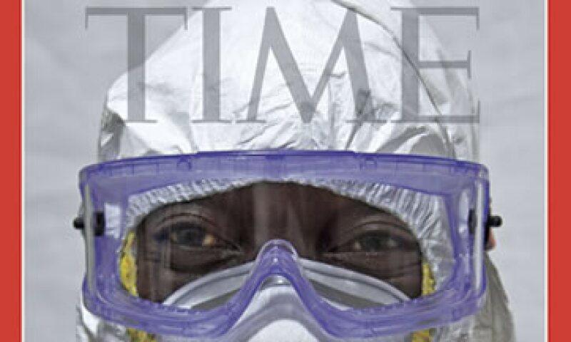 El médico Jerry Brown en una de las portadas de la revista que se empezará a vender el viernes. (Foto: Reuters )