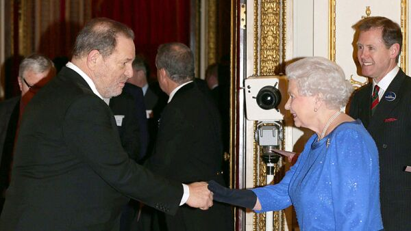Queen Elizabeth II Hosts Dramatic Arts Reception At Buckingham Palace