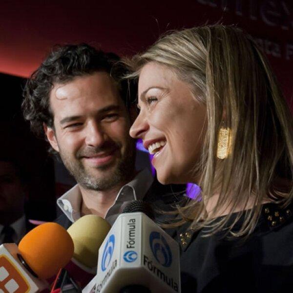 Emiliano Salinas y Ludwika Paleta.