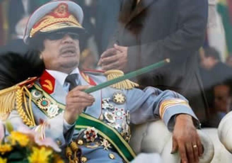Moammar Gadhafi se niega a dejar el poder en Libia. (Foto: AP)