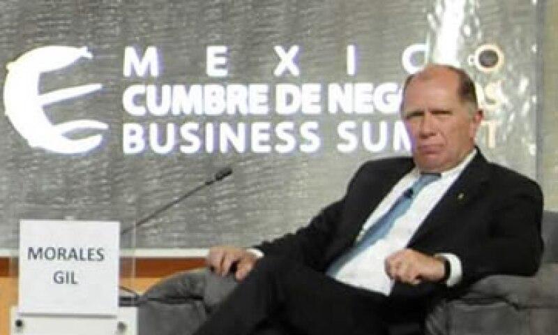 Carlos Morales Gil dijo que Pemex Exploración y Producción reporta números negros que generan gran cantidad de impuestos. (Foto: Notimex)