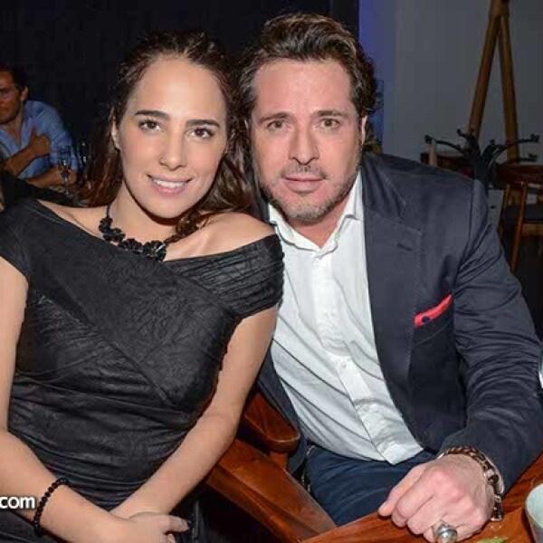 Laura Montijano y Víctor Noriega.