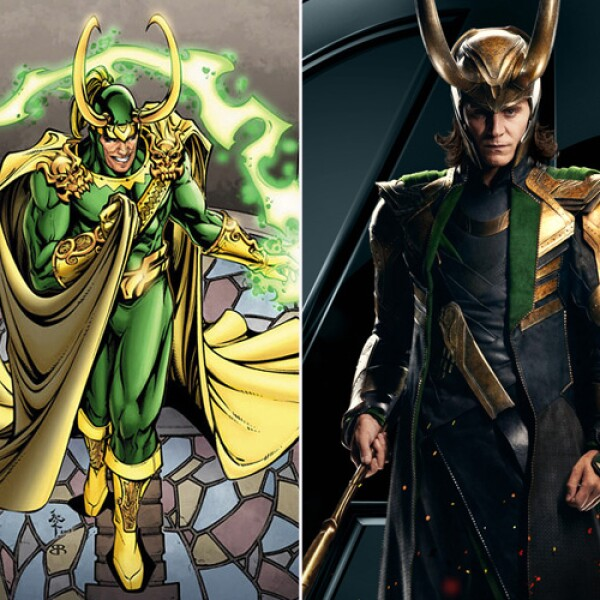 Loki, hermano de Thor fue interpretado por el actor Tom Hiddleston, quien ha sido ovacionado por su papel en la saga.