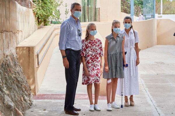 Spanish Royals Visit A Socio-Educational Center In Mallorca