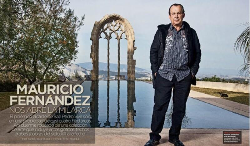 Mauricio, de 59 años, es el alcalde del municipio más rico de México y vive en la zona de Chipinque.