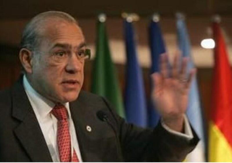 El secretario general de la Organización para la Cooperación y el Desarrollo Económico advirtió que la economía global aún no se recupera. (Foto: Reuters)