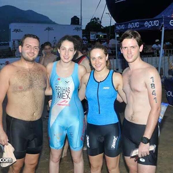 José Askenazi, Karen Penhas, Daniela Merikanskas y Alberto Guakil