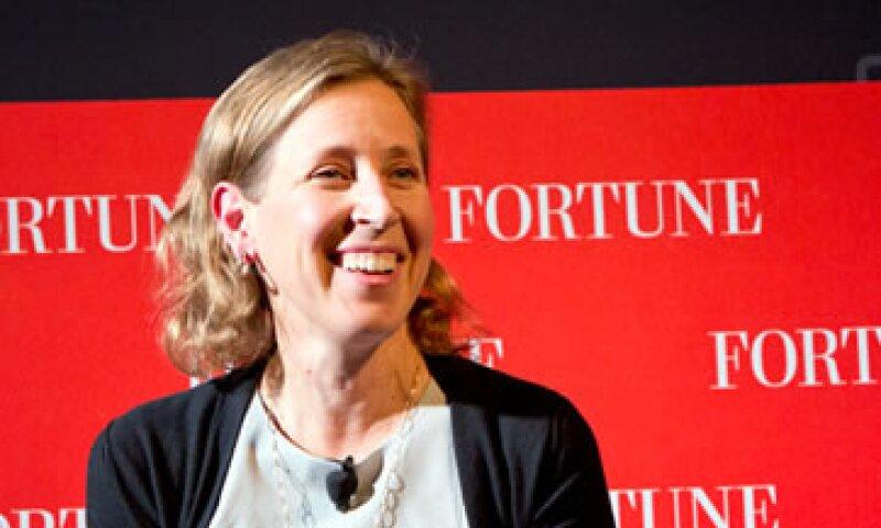 Susan Wojcicki ha contratado a celebridades para promover a YouTube y creado de paquetes premium para los anunciantes. (Foto: Cortesía de Fortune)