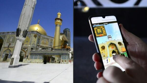 En Irak una peregrinación virtual es tan válida como la real