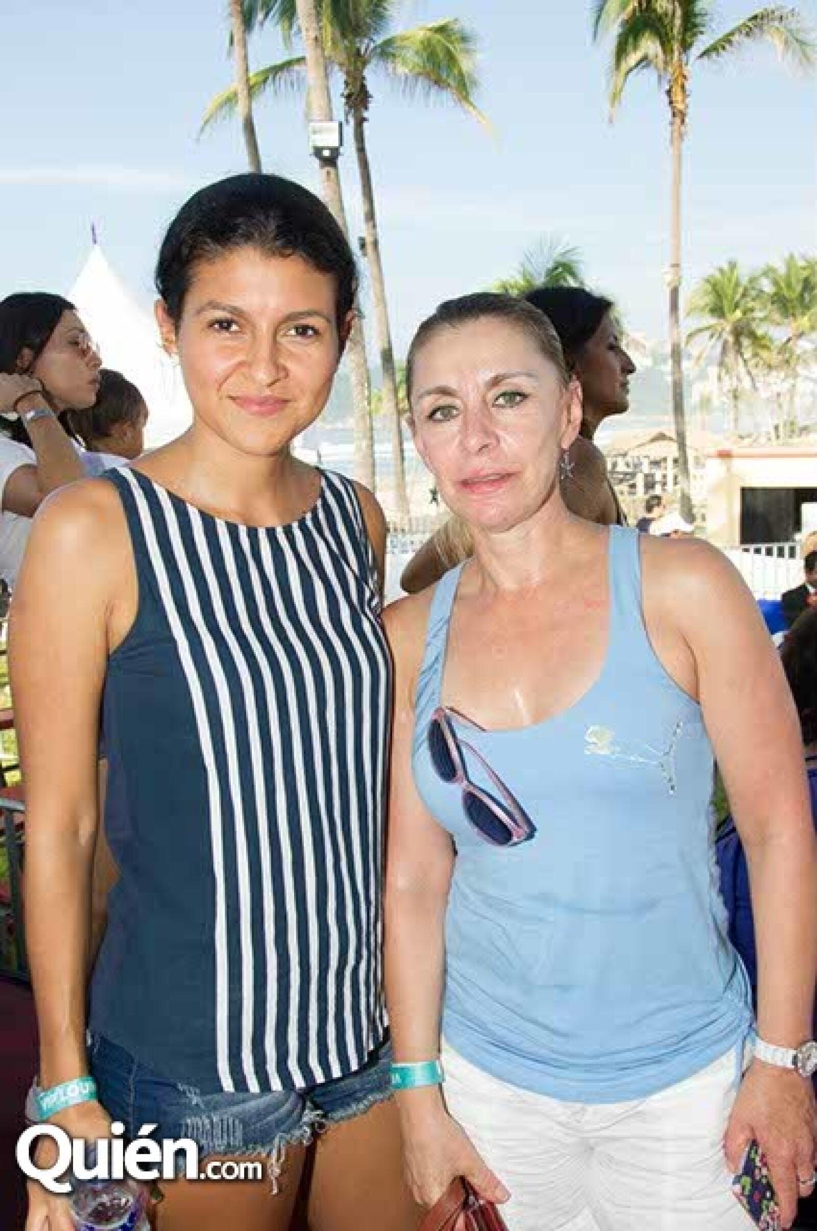 Marilú Sánchez y Blanca Aguilar