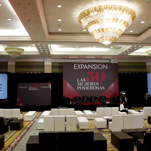 El 23 de agosto de 2012 se realizó el evento de Las 50 mujeres más poderosas de México, el ranking de la revista Expansión. Con la participación de la primera dama, Margarita Zavala, se presentó el panel La empresas como generadora de mujeres poderosas.