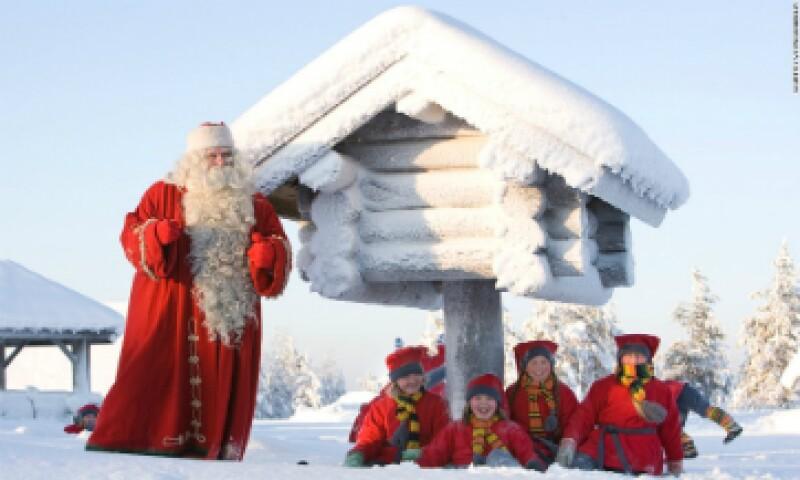 Para los finlandeses, Rovaniemi, situado justo al norte del Círculo Polar Ártico, es el cuartel general de la Navidad. (Foto: VisitRovaniemi.Fi/Cortesía )