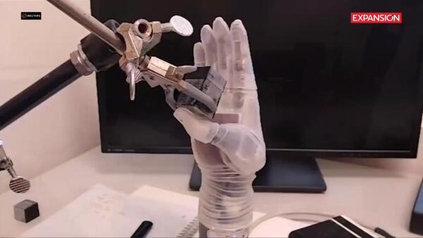 El brazo de Luke Skywalker inspiró esta prótesis de brazo