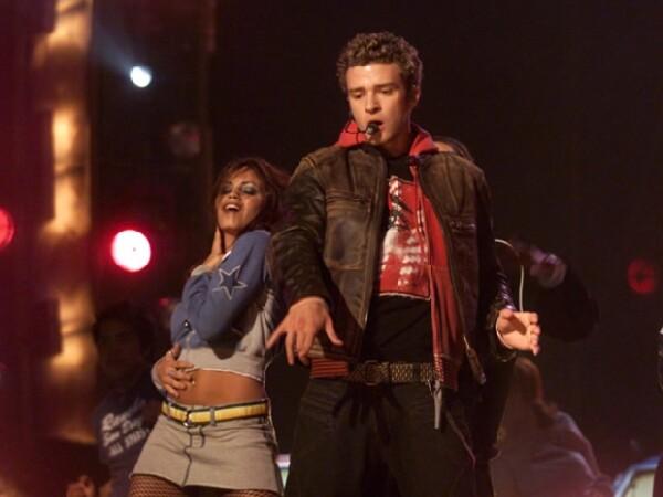 Jenna Dewan bailando con Justin.